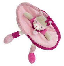 Doudou pantin Chat Les Masqués gris rose violet mauve Babynat' Baby Nat BN0120