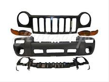 FOR 02-04 JEEP LIBERTY LIMITED/SPORT FRONT BUMPER TXT 5PCS