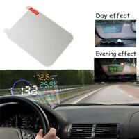 Translucent HUD Head Up Display Adsorption Film Reflective Projection Screen Kn