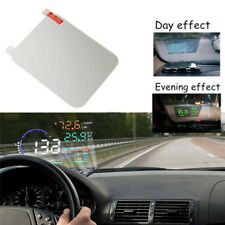 Translucent HUD Head Up Display Adsorption Film Reflective Projection Screen US
