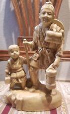 "Rare Vintage Japanese Moriyama Porcelain Figurine 6 1/2"" High occupied japan"