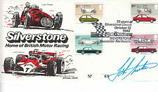Signed John Surtees Silverstone Homeof British Motor Racing Official Cover