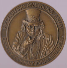 Recruiting Americas Army Deputy Commanding General Challenge Coin 2 Inch DIA