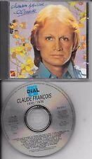 CD COMPIL 22 TITRES--CLAUDE FRANCOIS--CHANSON POPULAIRE (CLUB DIAL)