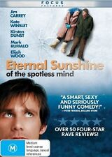Eternal Sunshine Of The Spotless Mind (DVD, 2016, 2-Disc Set) NEW & SEALED D2908