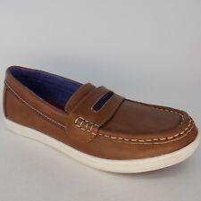 4b455602d Tommy Hilfiger Dylan Boat Slip On Brown Kids Shoes Size 4 EU 35 AL165