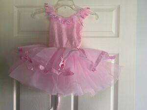Revolution Dancewear Pink Ballet Costume Halloween Size: MC Style: RC17105