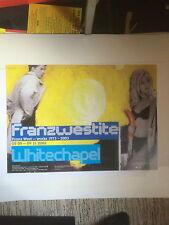 FRANZ WEST, 'Franzwestite'originanal exhibition poster 2003