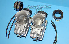 Triumph T140E Amal Mk2 Carburettor pair NEW 2930/300 2930/301 vergaser paar