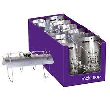 12 PACK Stv Mole Tunnel Trap Fast Quick Easy Kill Heavy Duty Steel Pest Control