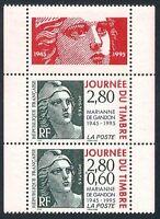 FRANCE - paire Timbre P2934Aa Neuf** TB avec gomme d'origine (cote 6,00 euros)