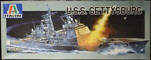 USS GETTYSBURG CG-64 Italeri 1:350 Model Kit Ticonderoga Class Missile Cruiser