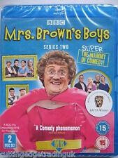 Mrs Brown's Boys Series 2 (Blu-ray, 2011) NEW SEALED Region B PAL