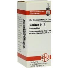 CAPSICUM D 12 Globuli 10g PZN 3631534