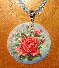 Collares y colgantes de bisutería coral color principal rosa