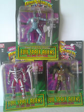 Bundle Power Rangers Evil Space Aliens 1995 Bandai, Lord Zedd, Goldar, & More