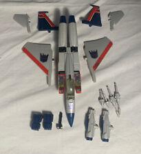 Transformers Original G1 1984 Pre Rub Decepticon Starscream Complete Nice