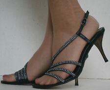 Women's Stiletto High Heel (3-4.5 in.) Strappy, Ankle Straps Shoes