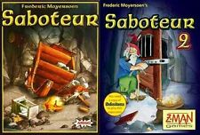 Mayfair Games: Saboteur + Saboteur 2 Card Game Bundle (New)
