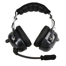 Active Noise Cancelling Headphones Headset Over Ear ANC Aviation Headphone