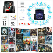9.7'' Android 9.1 Touch Screen Quad-core 32GB Car Stereo Radio GPS WIFI OBD DAB