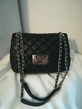 Beautiful MICHAEL KORS Sloan Quilted Black Soft Leather Shoulder/ Crossbody Bag