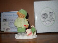"Cherished Teddies 104657 Louise ""Friends Were Meant for Times."" 2002 Nib"