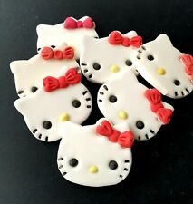 Edible Sugar Hello Kitty  for cake cupcake decorations *UK Seller*