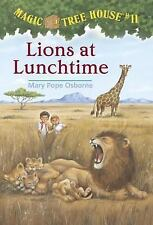 Lions at Lunchtime (Magic Tree House, No. 11)