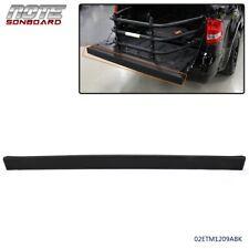 For 2007-2010 Ford Explorer Sport Trac Black Top Rear Tailgate Moulding Trim