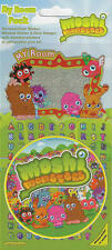 Official Moshi Monsters My Room Sticker Pack
