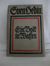 Sven Hedin, Ein Volk in Waffen, 1915, F. U. Brockhaus Verlag