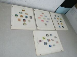 Nystamps Sweden mint Christmas Seals collection Album page rarely offered