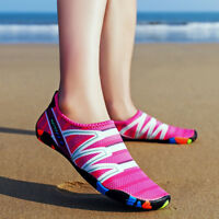 Womens Summer Outdoor Water Shoes Aqua Socks For Beach Swim Surf Yoga Exercise