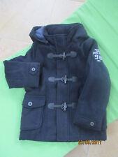 ❤️ edel Woll-Winter-Mantel Dufflecoat Gr.98/104 Mexx d.blau mit Kap. ❤️ Neu m.E.
