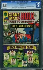 Tales to Astonish # 68 US Marvel 1965 Hulk Giant Man Jack Kirby VFN + CGC 8.5