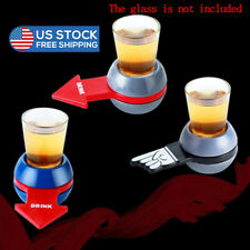 shot spinner spin The Shot Drinking Game with Shot Glass Great Party Fun GameWE