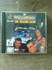 Wrestlemania : the arcade game WWF  PS1 playstation one game  PAL