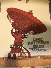 Dave Matthews Band Poster June 10 2014 Pnc Bank Arts Center Holmdel, Nj