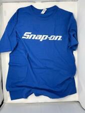 Snap-On T-Shirt Royal Blue L Large Tools Mechanic Auto Parts Racing Car Repair