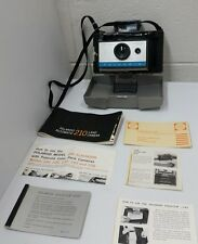 Vintage Polaroid 210 Automatic Land Camera Instant FIlm Camera with Instructions