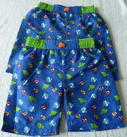 Lot 2 maillot de bain garçon vêtement short taille 3/4 ans 5/6 ans 7/8 ans neuf