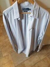 Ralph Lauren Mens Oxford Striped Long Sleeved Shirt Size XL