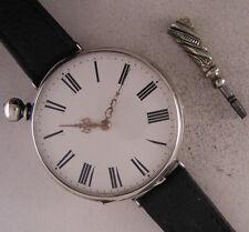 SILVER Case Original Just Serviced SD & Co 1870 Swiss Wrist Watch Perfect