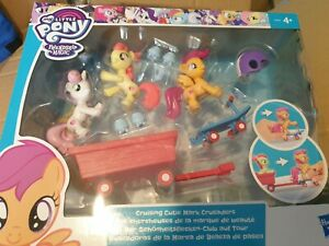 BNIB My Little Pony Cruising Cutie Mark Crusaders