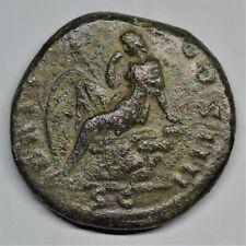 ICONIC COPPER AS OF ANTONINUS PIUS: BRITANNIA. ROME, AD 154-5. RIC: 934. V.F+