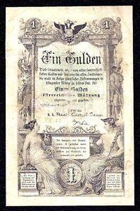Austria  1 Gulden  P-A150  1866