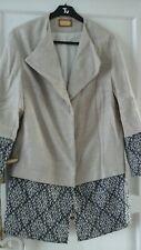 Lovely NWOT  M&S Light Beige Coat Size 14