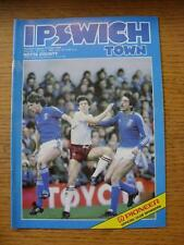 09/04/1983 Ipswich Town v Notts County (Small Marks)