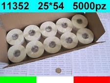 11352 10x ROTOLI ETICHETTE COMPATIBILI DYMO LABELWRITER 400 25x54mm